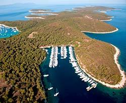 Navegar en Croacia - Islas de Split - Puertos