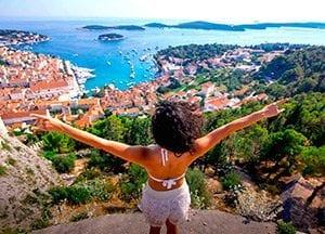 viaje de vacaciones en velero a croacia -islas split