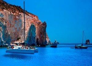 viaje de vacaciones en velero a grecia
