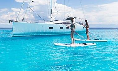 Viaje para Navegar en Velero - Paddle board