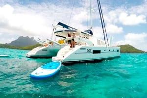 Viaje para Navegar en catamaran - paddle board