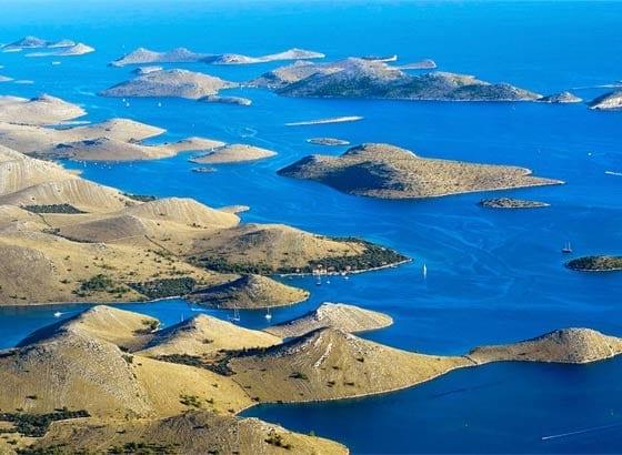 Todos los Destinos para Navegar en Barco en Croacia en las Islas Kornati