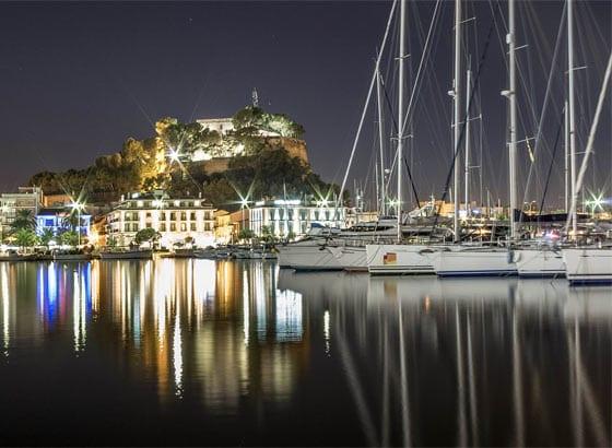 Todos los Destinos para Navegar en Barco en Denia