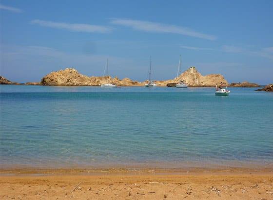 Navegar en la isla de Menorca