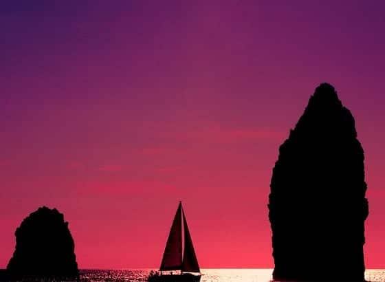 Navegar en Sicilia