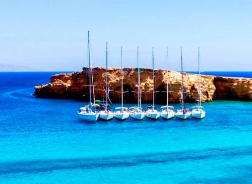 Flotilla en un Viaje de Vacaciones en Velero - Sport