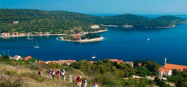 Islas de Split en un Viaje de Vacaciones en velero a Croacia