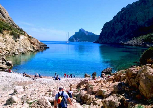 Cala Boquer para Viaje de Vacaciones en Velero a Mallorca