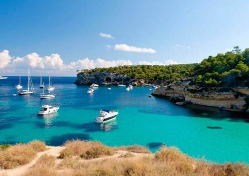 Cala Murta para Viaje de Vacaciones en Velero a Mallorca