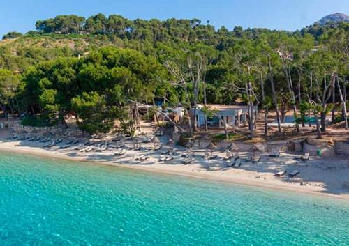 Playa de Formentor para Viaje de Vacaciones en Velero a Mallorca