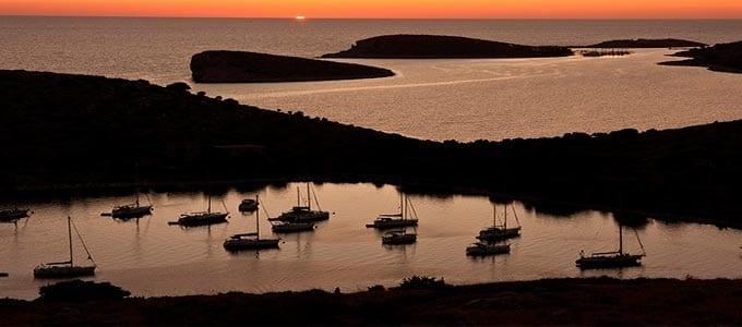 Viaje de Vacaciones en Velero a Croacia - Islas Kornati - Atardecer