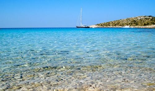 Viaje de Vacaciones en Velero a Croacia - Islas Kornati - Playa de Otocic