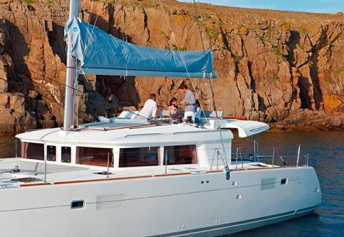 Flybridge del Alquiler de Catamarán Lagoon 450 en Grecia