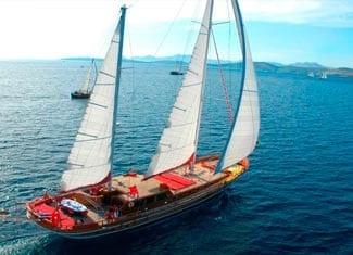 Alquiler de Goleta en Ibiza
