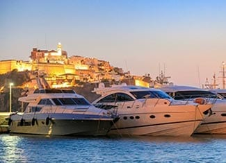 Alquiler de Yate de Lujo en Ibiza