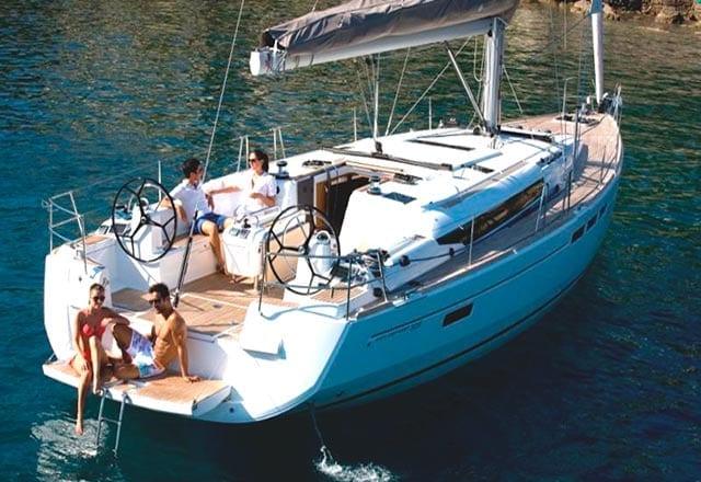 Alquiler de Velero Sun Odyssey 509 en Ibiza
