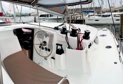 Bitácora del Alquiler de Catamaran Lipari 41 en Menorca