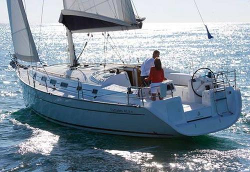 Vacaciones en el Alquiler de Velero Cyclades 43.4 en Menorca