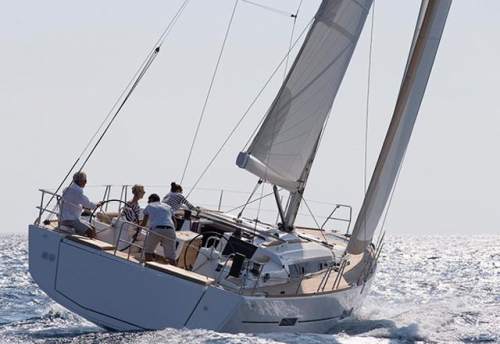 Navegando en un Alquiler de Velero Dufour 460 en Mallorca