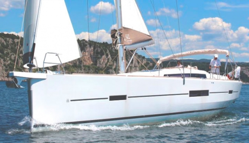 Navegando del Alquiler de Velero Dufour 512 en Mallorca