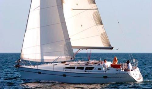 Navegndo del Alquiler de Velero S.O. 40.3 en Menorca