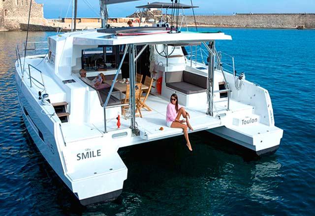 Alquiler de Catamaran Bali 45 en Mallorca