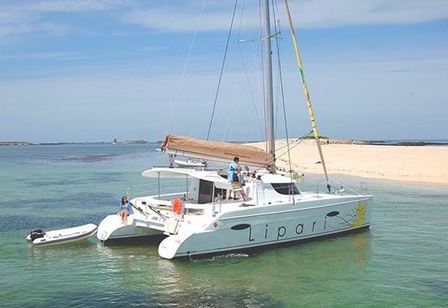 Alquiler de Catamaran Lipari 41 en Menorca