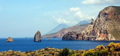 Isla de Lipari en Navegar en Sicilia