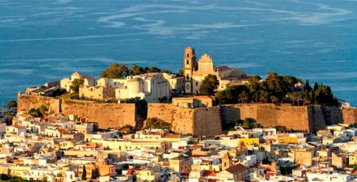 Ciudadela de Lipari en Navegar en Sicilia
