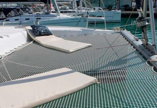 Solárium del Alquiler de Catamaran Nautitech 395 en Denia
