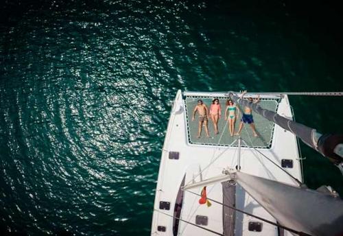 Vacaciones en el Alquiler de Catamaran Nautitech 395 en Denia