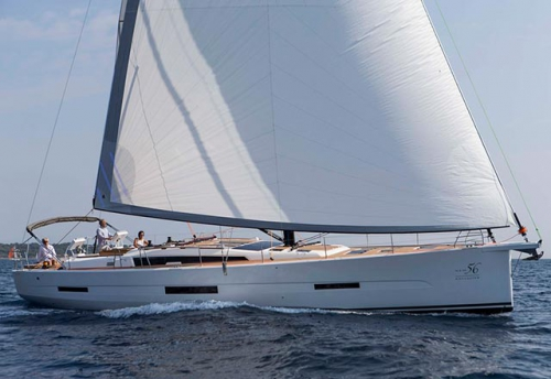 Navegando en el Alquiler de Velero Dufour 56 en Sicilia