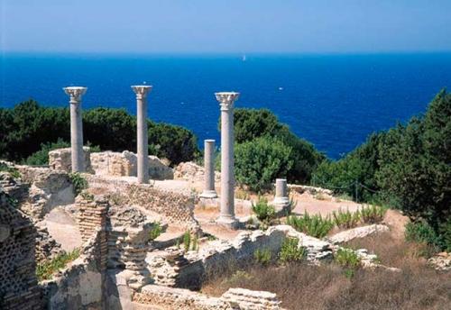 Las ruinas griegas de Giannutri