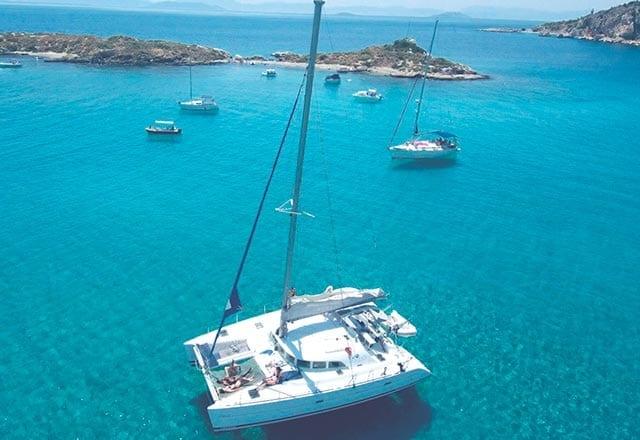 Alquiler de Catamaran Lagoon 38 en Denia