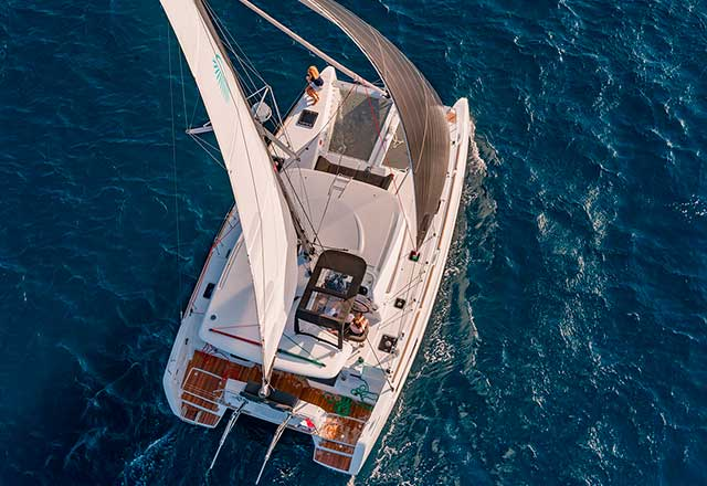 Alquiler de Catamarán Lagoon 40 en Grecia