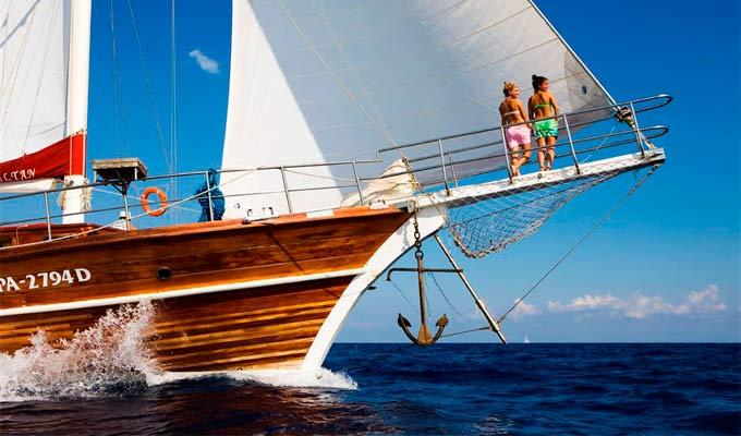 Navegacion en un Viaje para Navegar en Goleta