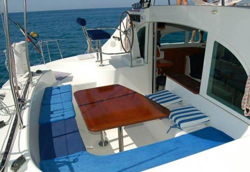 Bañera del Alquiler de Catamaran Lagoon 38