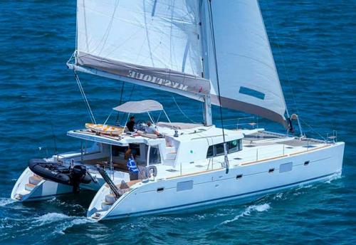 Popa del Alquiler de Catamarán Lagoon 500 en Italia