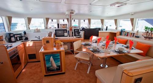 Salón del Alquiler de Catamarán Lagoon 500 en Italia