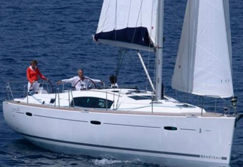 Ceñida del Alquiler del Velero Oceanis 43 en Ibiza