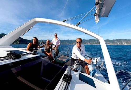 Tripulación del Alquiler de Velero Oceanis 45 en Italia