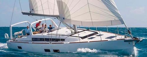 Ceñida del Alquiler de Velero Oceanis 50.5 en Croacia