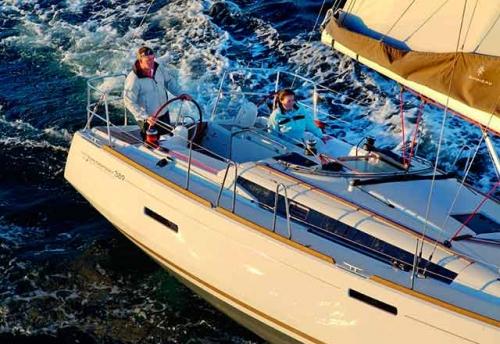 Navegación en el Alquiler de Velero SO 389 en Grecia