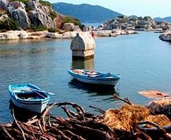 Turismo en Licia para Navegar en Turquía