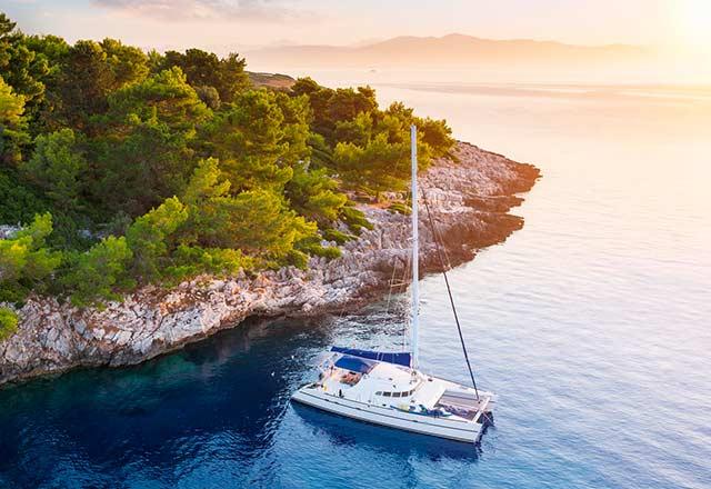 Principal Alquiler de Catamarán en Italia