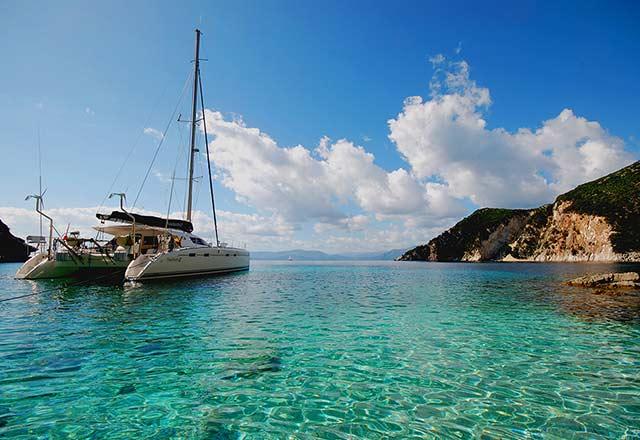 Principal Alquiler de Catamarán en Turquía