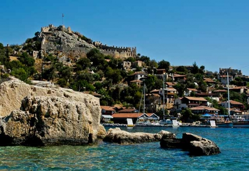 Kale Koy en Navegar en Turquía