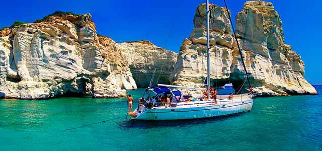 Alquiler de Barco en las islas Cícladas de Grecia