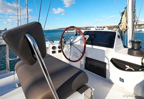 Bitácora del Alquiler de Catamarán Nautitech 46F en Grecia