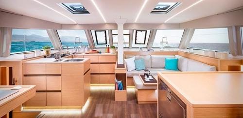 Salón del Alquiler de Catamarán Nautitech 46F en Grecia